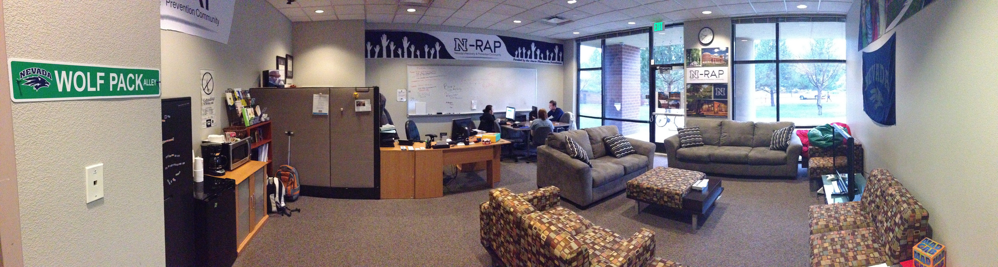 NRAP lounge